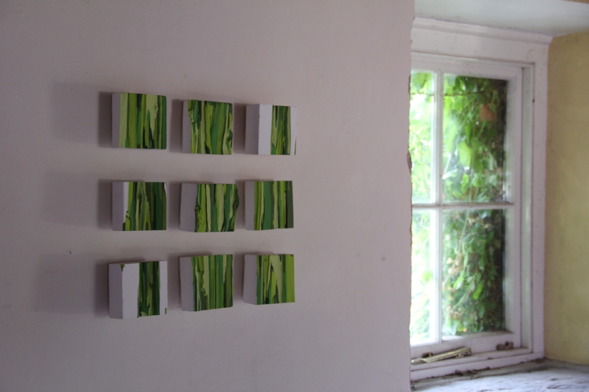 Sean Puleston 2012 Torn Edges and Secret Gardens (Version 2)