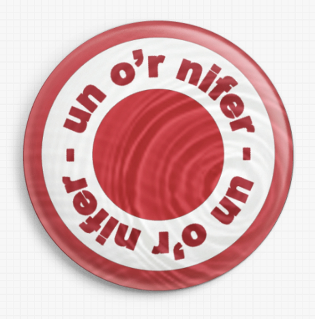 Un or nifer badge Sean Puleston
